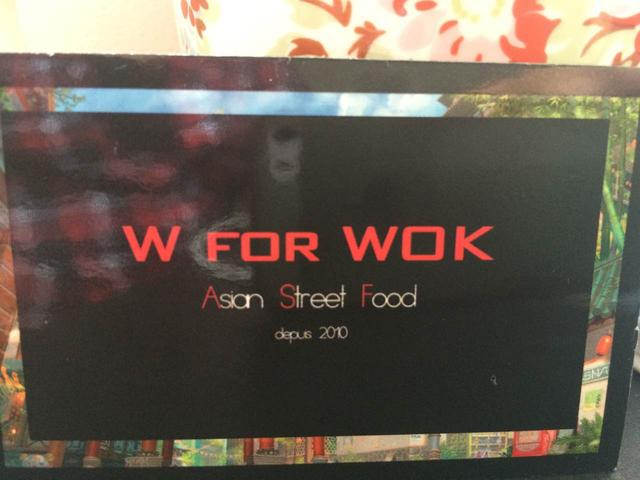 W for Wok